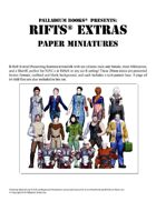 Rifts® Paper Miniatures: Extras
