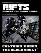 Rifts® Adventure Sourcebook Three: The Black Vault™