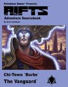 Rifts® Adventure Sourcebook Four: The Vanguard™