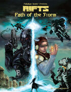 Rifts® Path of the Storm™ – Screenplay & Sourcebook