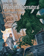 Beyond the Supernatural™ RPG, 2nd Edition