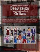 Dead Reign® Paper Miniatures, Volume II: Civilians