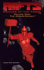 Hammer of the Forge™, Volume One: The Cosmo-Knight™