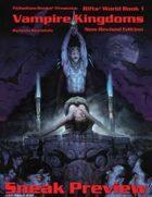 Rifts® Vampire Kingdoms Sneak Preview