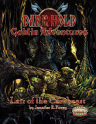 Dark Hold Goblin Adventures: Lair of the Cerebeast