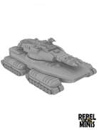 Sci-Fi Mega Merka Tank for 3d printing (STL)