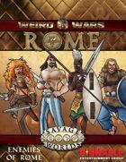 Weird Wars Rome: Enemies of Rome Figure Flats