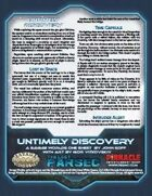 The Last Parsec: Untimely Discovery