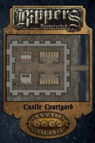 Rippers Resurrected: Combat Map-Castle Courtyard