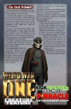 Weird War I: Graf Schmidt