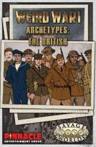 Weird War I: British Archetypes