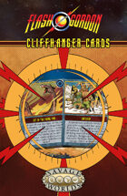 The Savage World of Flash Gordon: Cliffhanger Cards