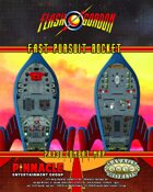 The Savage World of Flash Gordon: Fast Pursuit Rocket Poster Map