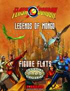 The Savage World of Flash Gordon: Figure Flats