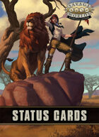Savage Worlds Adventure Edition: Status Cards