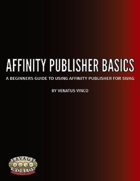 Affinity Publisher Basics - User Guide & Template
