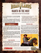Deadlands: The Weird West: Giants in the Mist