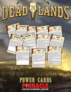 Deadlands: The Weird West VTT Power Cards