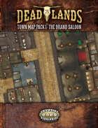 Deadlands: The Weird West: Map Pack 1: Grand Saloon