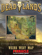 Deadlands: The Weird West VTT Map of the Weird West