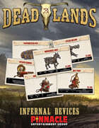 Deadlands: The Weird West VTT Infernal Device Cards
