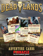Deadlands: The Weird West VTT Adventure Cards
