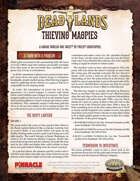 Deadlands: The Weird West: Thieving Magpies