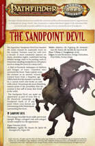 Savage Pathfinder Sandpoint Devil Creature Feature