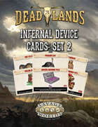 Deadlands: The Weird West VTT Infernal Device Cards 2