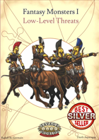 SWADE Fantasy Monsters I - Low Level Threats