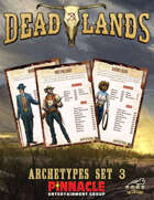 Deadlands: The Weird West VTT Archetype Cards 3