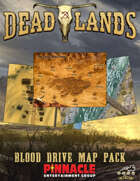 Deadlands: The Weird West VTT Blood Drive Map Pack