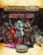 Pathfinder® for Savage Worlds Archetype Cards Set 2