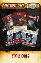 Pathfinder® for Savage Worlds Status Cards