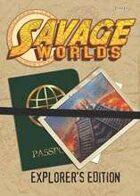 Savage Worlds: Explorer's Edition (3rd Printing)