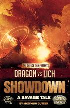 Dragon vs Lich Showdown