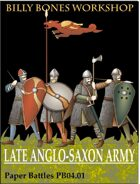 Late Anglo-Saxon Army