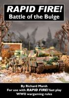 Rapid Fire! Battle of the Bulge