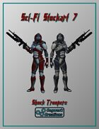 Sci-Fi Stockart 7: Shock Troopers
