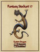 Fantasy Stockart 17: Eastern Dragon