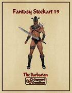 Fantasy Stockart 19: The Barbarian