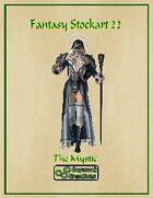 Fantasy Stockart 22: The Mystic