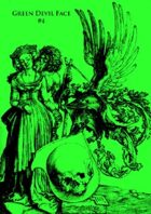 Green Devil Face #4
