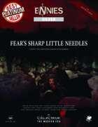 Fear's Sharp Little Needles - 26 Modern Day Call of Cthulhu Scenarios