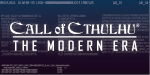 Call of Cthulhu: Modern Era