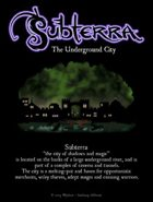 Subterra: The Underground City