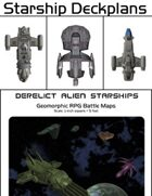 Starship Deckplans/Battlemaps [BUNDLE]