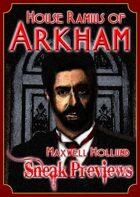 Arkham: City of Secrets - House Ramius: Maxwell Hollund