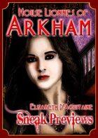 Arkham: City of Secrets - House Lionnes: Elizabeth D'Aquitaine