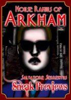 Arkham: City of Secrets - House Ramius: Salvatore Serrentus